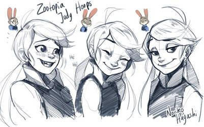 Judy Hopps - Zootopia by Noririn-Hayashi