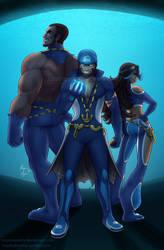 Team Aqua by toastydoodles