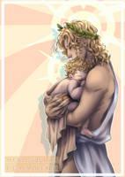 [Takeru] Apollo and his lil' sunshine... by TakeruNyan