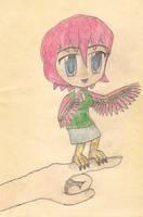 chibi harpy by JofDragon