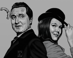 Steed and Peel #DSC by The-Tinidril