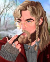 Dwarf Scholar- thelias RGD by The-Tinidril