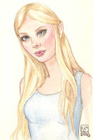 RGD-shanklylegend as Lothlorien Elf by The-Tinidril