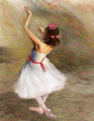 Adora Degas Dancer by The-Tinidril