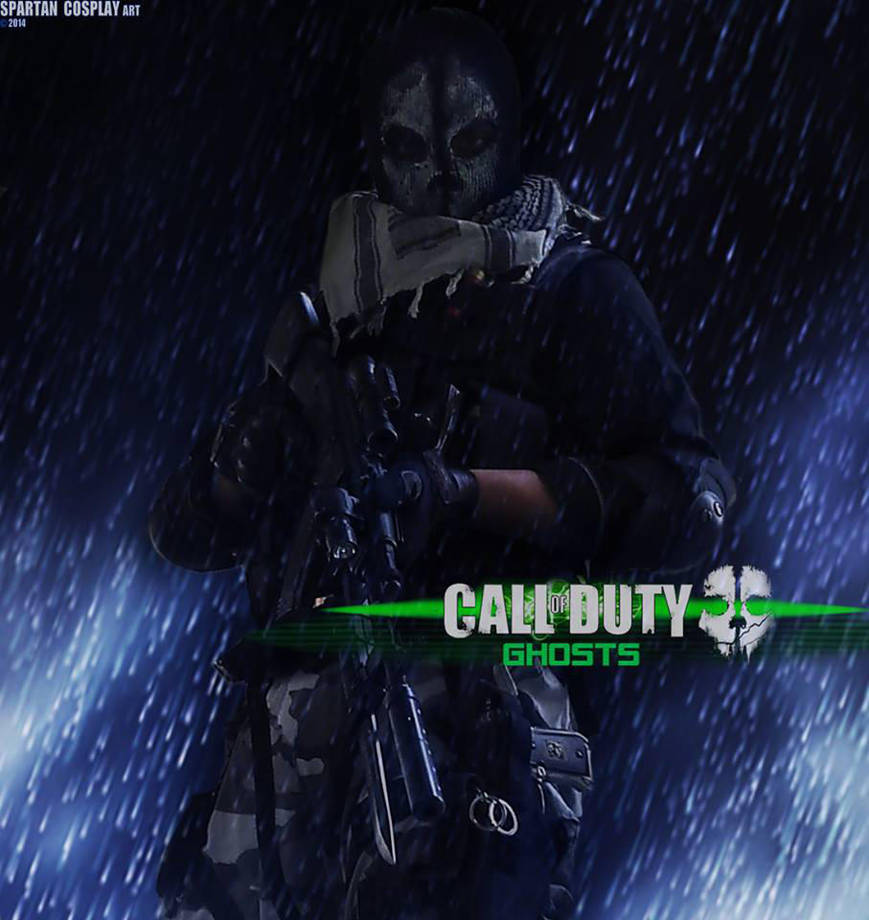 Call Of Duty Ghosts Logan Walker Cosplay By