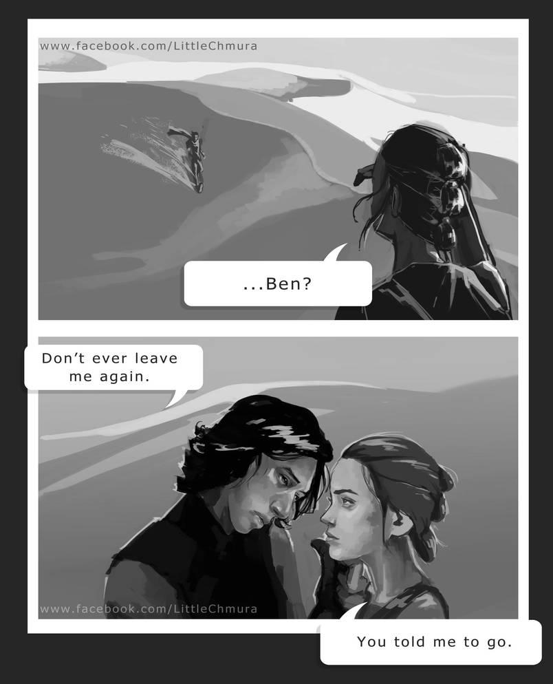 Star Wars: Reylo by LittleChmura