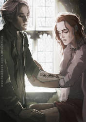 HP: Dramione - Death Eater's Mark by LittleChmura