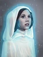 Star Wars: Princess Leia by LittleChmura