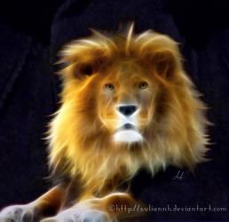 Lion Portrait by SuliannH