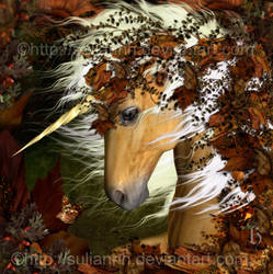 Autumn Unicorn by SuliannH