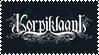 korpiklaani stamp by zomestamp
