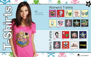 Tokidoki TShirt Catalog Spread by octofinity