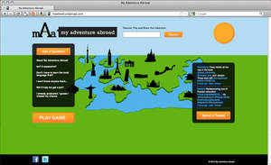 My Adventure Abroad Website by octofinity