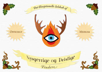 Nysgerrige og Dristige (Curious and Bold) by octofinity