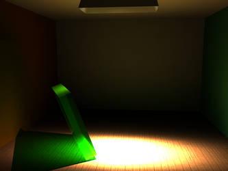 Random Render with IES Lights by MahoroAndou