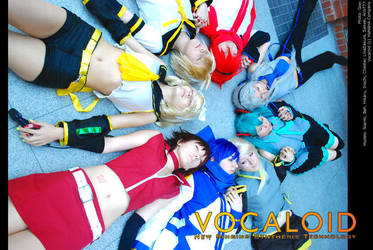 Vocaloid: All stars by wtfproductionsskits