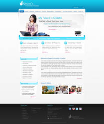 Queen's University Template by nidhijigish