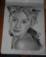 Flower Girl by ximina