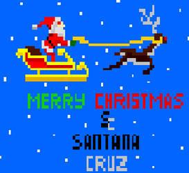 Merry Pixel Chritsmas by Santanacruz