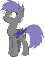 Midnight Blossom the Bat Pony 5 by Zee66