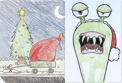Christmas Slug by musical-onigiri