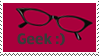 Geek Stamp by Jiglette