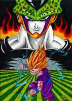 GOHAN VS CELL 2.0 by Acid-Flo