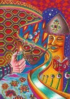 Mushroom Highway by Acid-Flo