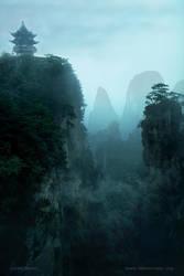 Cloud Temple by Suirebit
