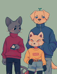 Heading out by Luxjii