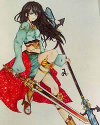 Warrior Akari by xelAkari