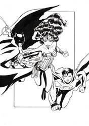 Justice league by Suzumebachi83