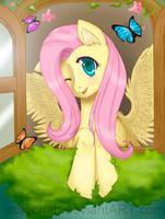 Fluttershy by Assechan