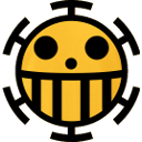 One piece jolly roger Trafalgar Law by Crountch