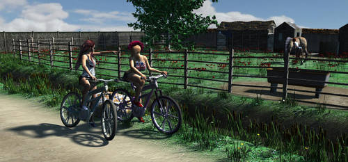 Bike rider 1 by Tricksterssden
