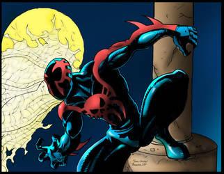 SpiderMan 2099 by Balla-Bdog