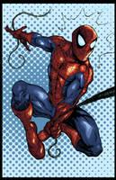 Fighting crime shooting webs by Balla-Bdog