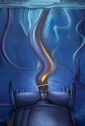 The Dreamer is Still Asleep by vladimm