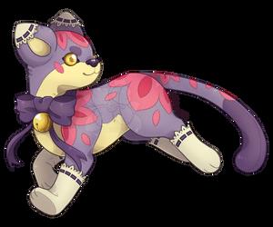 {P} Plushie Kitty by Viidoll