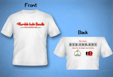 Humble Indie Bundle T-shirt Design by Timmie56