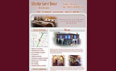 'Albridge Hotel' Website Design by Timmie56