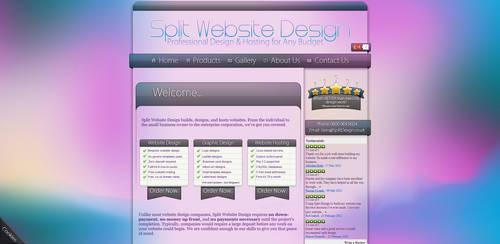'Split Design' Website Design V.2 by Timmie56