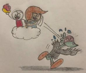 Cloudy Fun 2 by JJSponge120