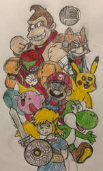 The Smash Crew by JJSponge120