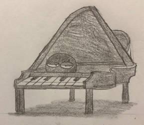 God Piano by JJSponge120