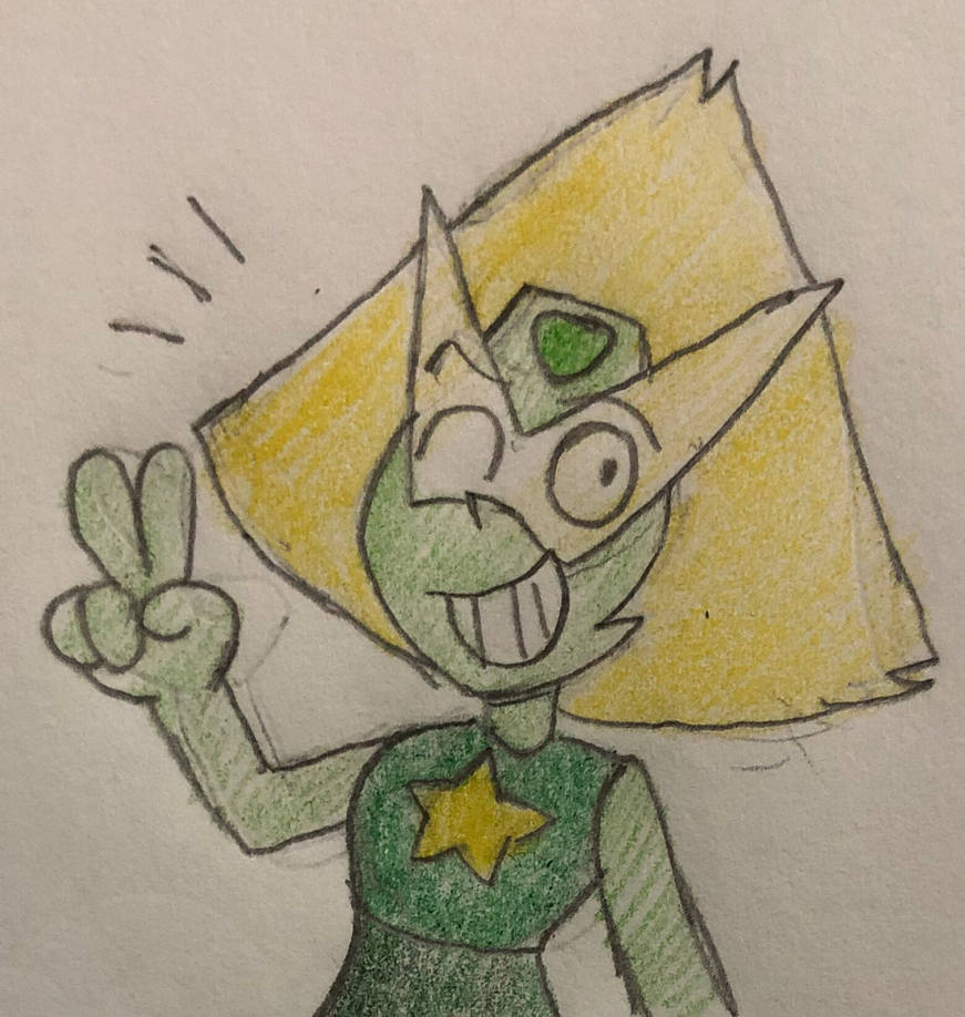Digging Peridot's new appearance! Steven Universe (c) Cartoon Network Art (c) JJSponge120