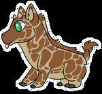 Pygmy Giraffe adopt by Feniick