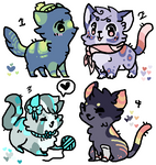 Kitty adopts by Feniick