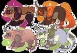 Pandacorns 2 OPEN by Feniick