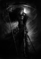 Reaper Queen by AndrewDobell